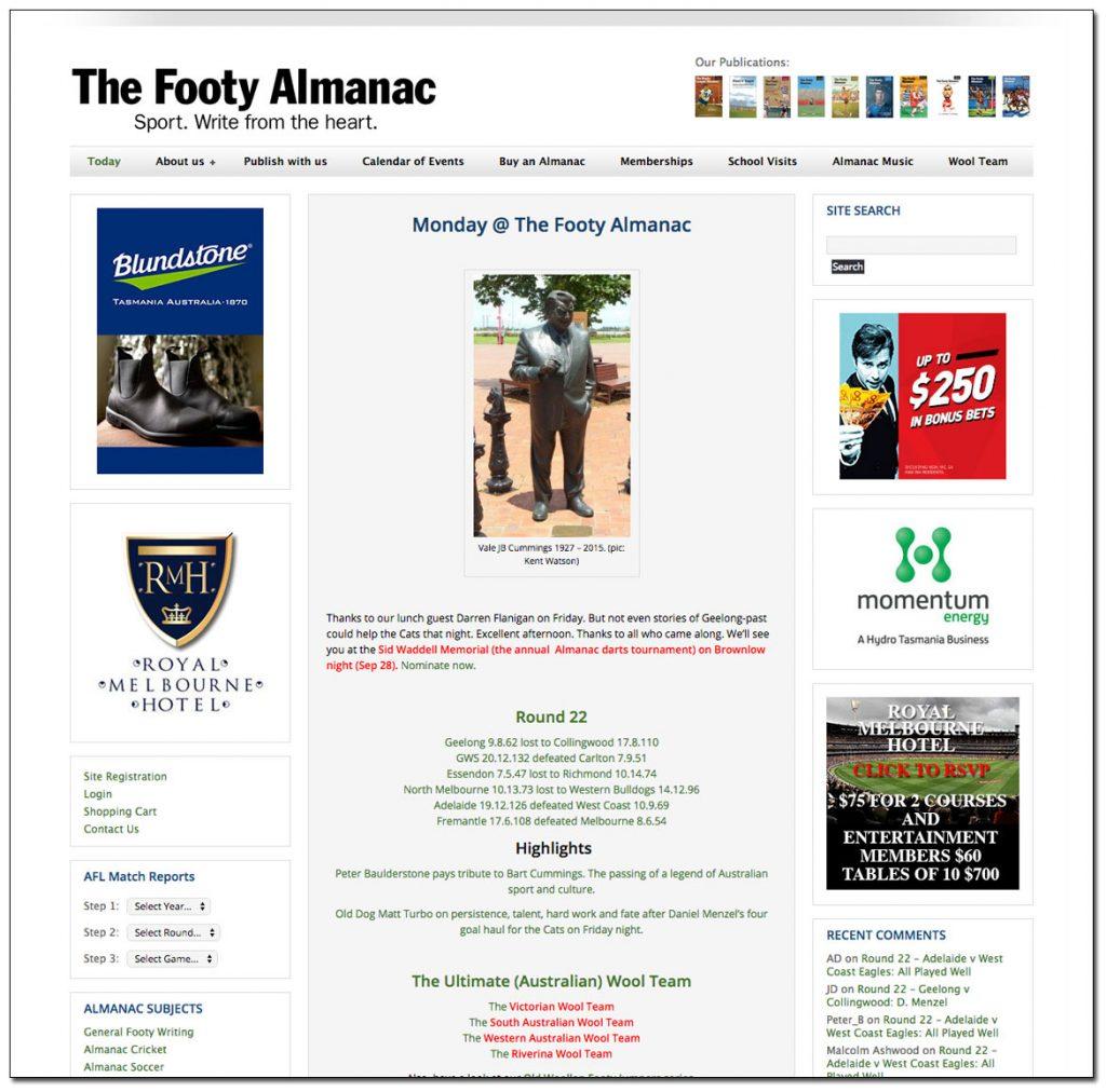 Footy Almanac