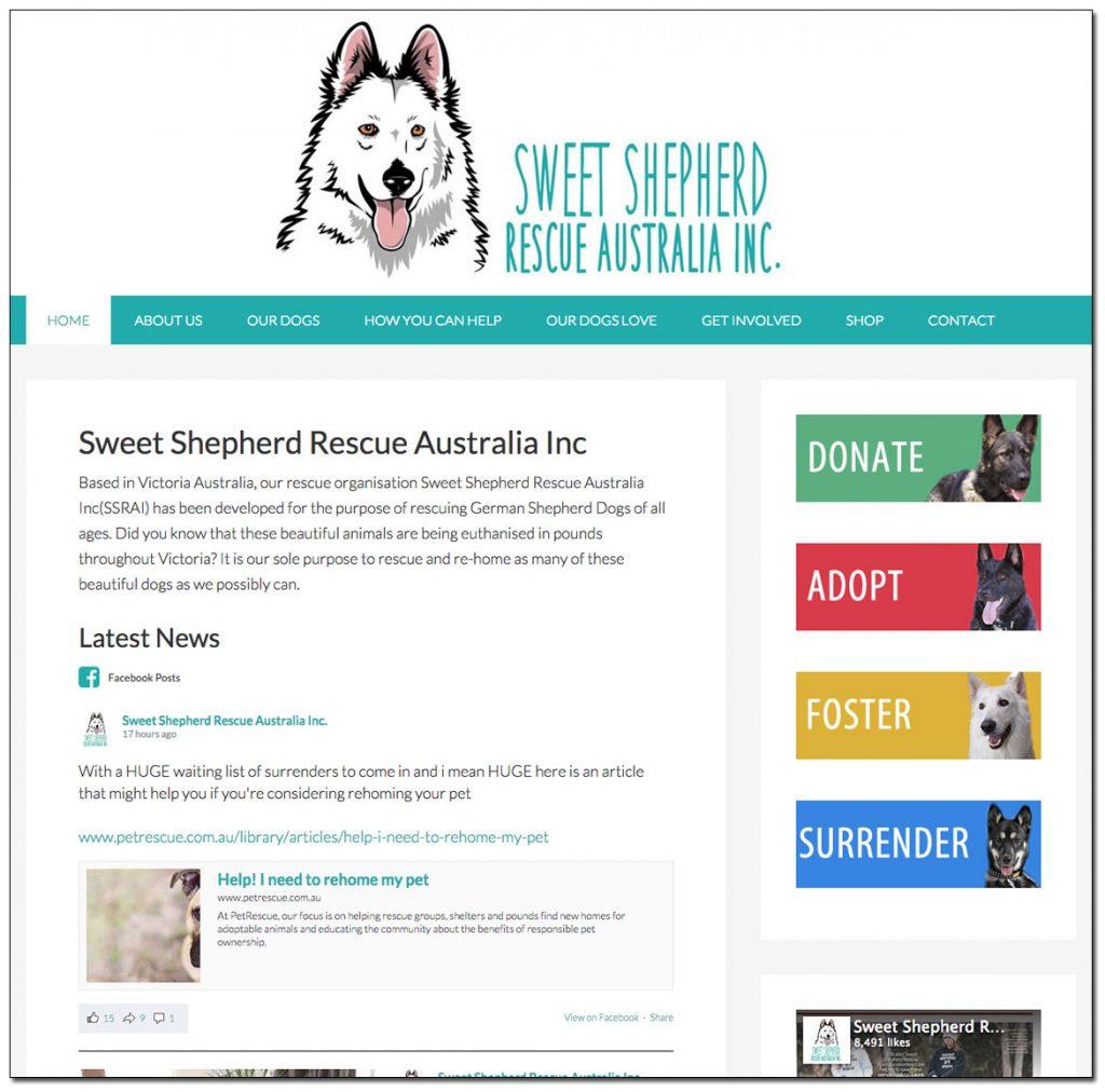 Sweet Shepherd Rescue