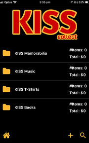 KISS Collect - The Ultimate KISS Collectors' App