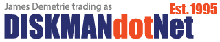 DISKMANdotNet Logo